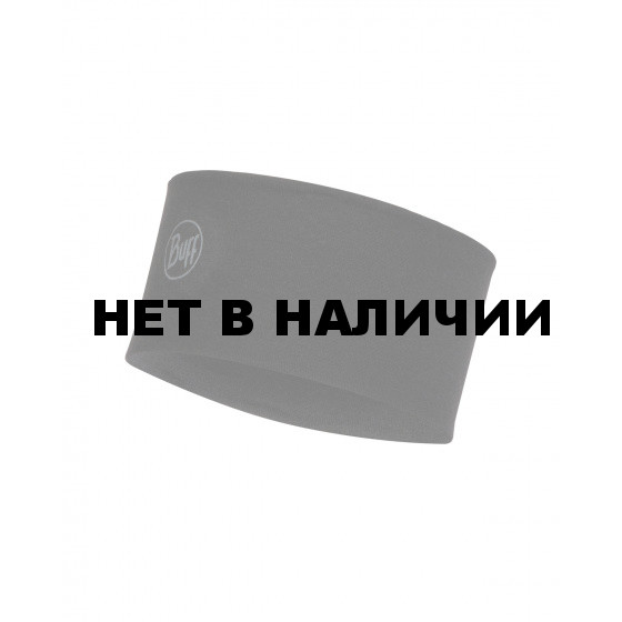 Повязка BUFF 2L MIDWEIGHT MERINO WOOL HEADBAND SOLID BLACK