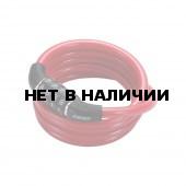 Замок велосипедный BBB 2015 bicyclelock CodeFix 8mm x 1200mm Coil cable red (BBL-65)