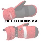Варежки GLANCE Element Mitten (red/white) красный/белый