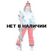 Брюки горнолыжные MAIER Maxi SLIM Fiery red красный