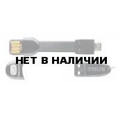 Брелок TRUE UTILITY 2015 KEY-RING ACCESSORIES MobileCharger- USB to Micro USB - Black /