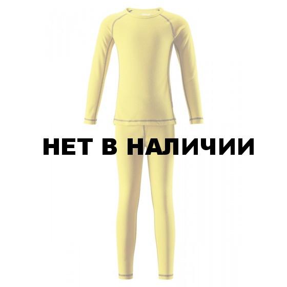Комплект (футболка, длинный рукав, + брюки) Reima 2017-18 Lani Yellow