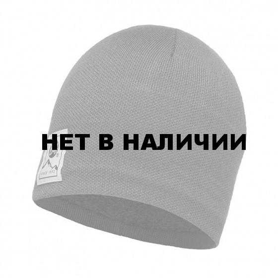 Шапка BUFF KNITTED & POLAR HAT SOLID GREY CASTLEROCK