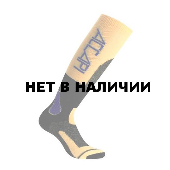 Носки ACCAPI SKIMOUNTAINERING grey/yellow (серый/желтый)