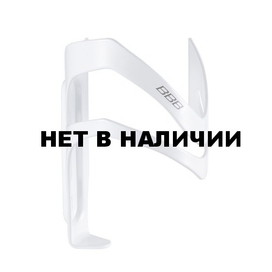 Флягодержатель BBB SideCage right блестящий белый (BBC-35R)
