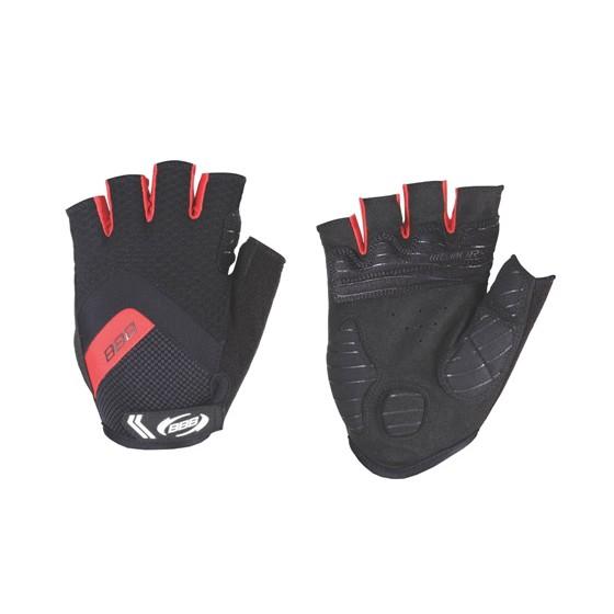 Перчатки велосипедные BBB HighComfort Gel black red (BBW-41)