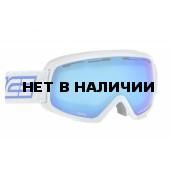 Очки горнолыжные Salice 709DARWFV WHITE-BLUE/RW CLEAR (б/р)