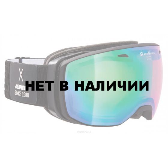 Очки горнолыжные Alpina ESTETICA QVMM black/white (black dots) (б/р:ONE SIZE)