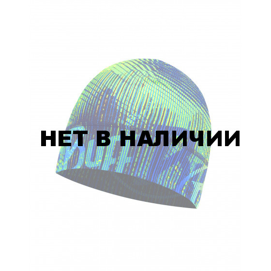 Шапка BUFF MICROFIBER 1 LAYER HAT FLASH LOGO MULTI