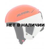 Зимний Шлем Alpina Downhill COMP orange-white