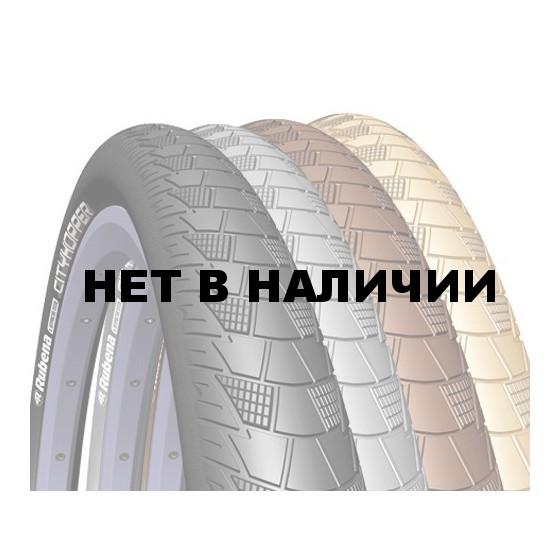 Велопокрышка RUBENA V99 CITYHOPPER 26 x 2,00 (52-559) CL коричневый