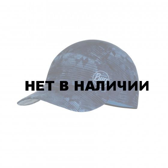 Кепка BUFF Pack Trek Cap Patterned Tzom Stone Blue