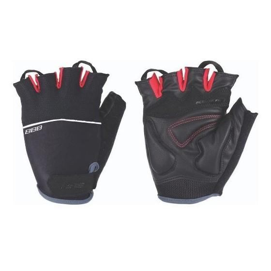 Перчатки велосипедные BBB Omnium black/red (BBW-47)