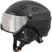 Зимний Шлем Alpina GRAP Visor HM black matt