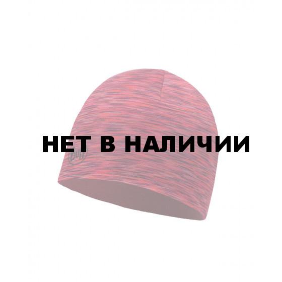 Шапка BUFF LIGHTWEIGHT MERINO WOOL REVERSIBLE HAT WILD PINK-RUSTY