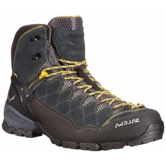Ботинки для хайкинга (низкие) Salewa 2017-18 MS ALP TRAINER MID GTX  Carbon Ringlo (UK 8,5) 4057ae41b9f