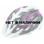 Велошлем Alpina 2018 Mythos 3.0 white-purple-titanium