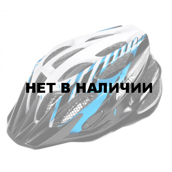 Велошлем Alpina 2018 FB Jr. 2.0 Flash black-blue-white