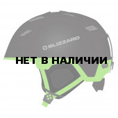 Зимний Шлем Blizzard 2016-17 Double black matt/neon green