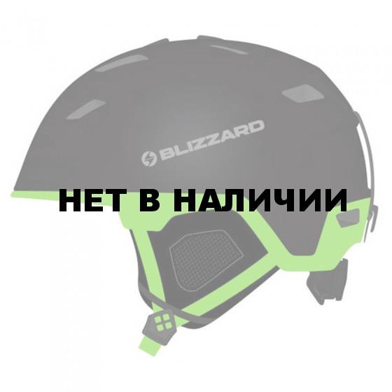 Зимний Шлем Blizzard 2016-17 Double black matt/neon green
