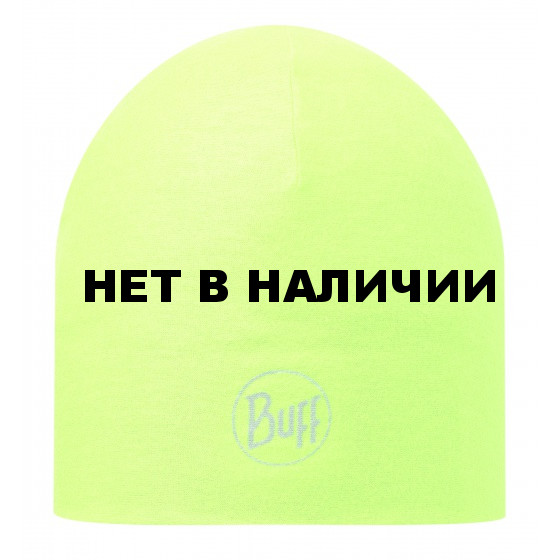 Шапка BUFF MICROFIBER REVERSIBLE HAT BUFF R-SOLID YELLOW FLUOR