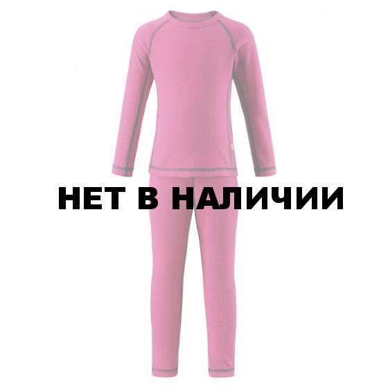 Комплект (футболка, длинный рукав, + брюки) Reima 2017-18 Lani Pink