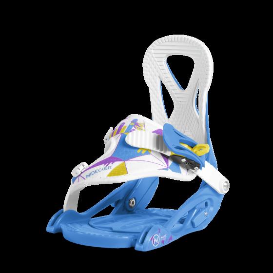 Сноуборд крепления NIDECKER 2017-18 MAGIC SERIES BLUE