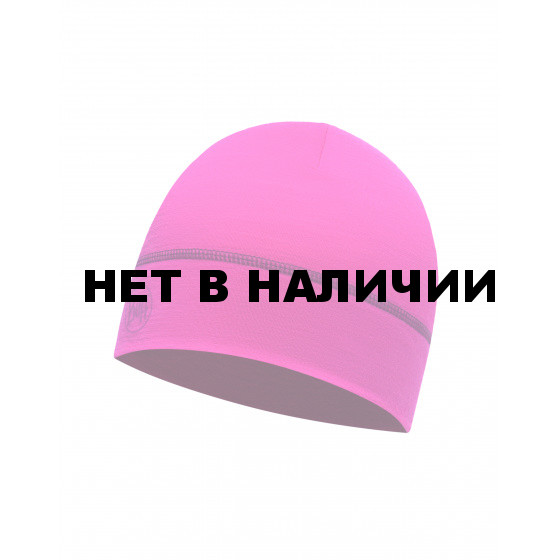 Шапка BUFF LIGHTWEIGHT MERINO WOOL 1 LAYER HAT SOLID WILD PINK