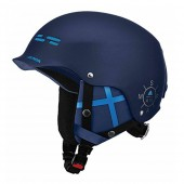 Зимний Шлем Alpina SPAM CAP blue-navy matt