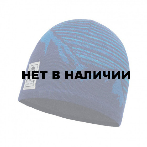 Шапка BUFF KNITTED & POLAR HAT LAKI BLUE INK (US:one size)