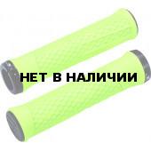 Грипсы BBB Python 142mm неон желтый/черный