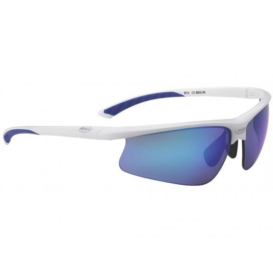 Очки солнцезащитные BBB Winner PC Smoke blue MLClens blue tips white (BSG-39)