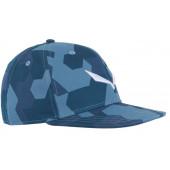 Кепка Salewa 2018 PUEZ CAMOU FLAT CAP poseidon