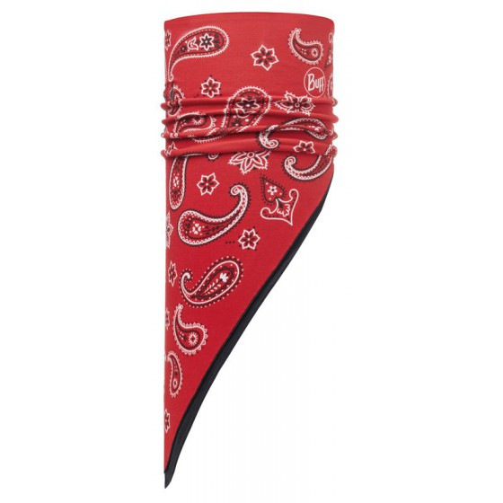 Бандана BUFF 2016-17 POLAR BANDANA BUFF® CASHMERE RED / BLACK-RED-Standard