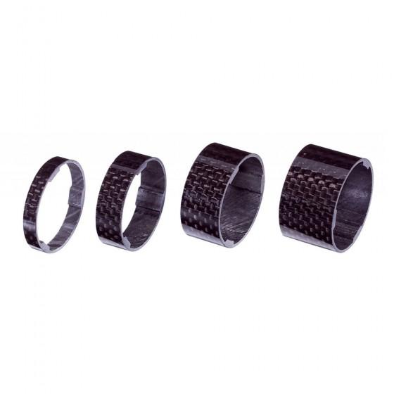 """Проставочные кольца BBB UltraSpace 1.1/8"""" 5/10/15/20mm UD Carbon carbon (BHP-35)"""