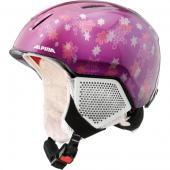 Зимний Шлем Alpina CARAT LX purple-star