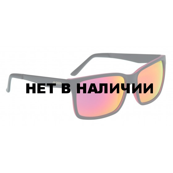 Очки солнцезащитные ALPINA SPORT STYLE DON HUGO black matt-red