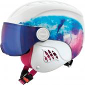 Зимний Шлем Alpina CARAT LE VISOR HM periwinkle matt