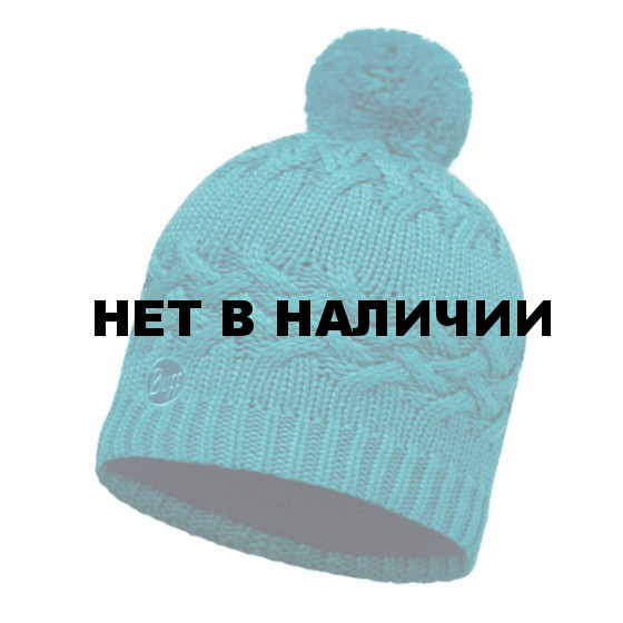 Шапка BUFF 2016-17 SKI CHIC COLLECTION KNITTED & POLAR HAT BUFF® SAVVA BLUE CAPRI
