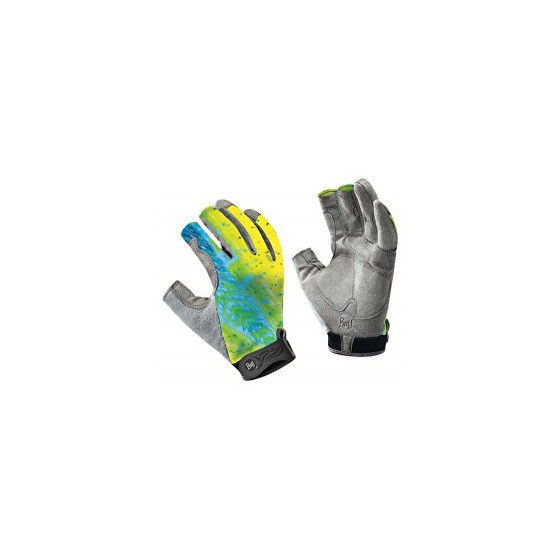 Перчатки рыболовные BUFF Figthing Work Gloves BUFF FIGHTING WORK II GLOVES BUFF DORADO M/L