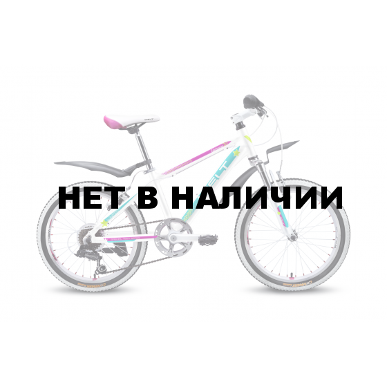 Велосипед Welt Edelweiss 20 2016 white/purple