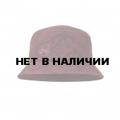 Панама BUFF TREK BUCKET HAT CALYX DARK RED