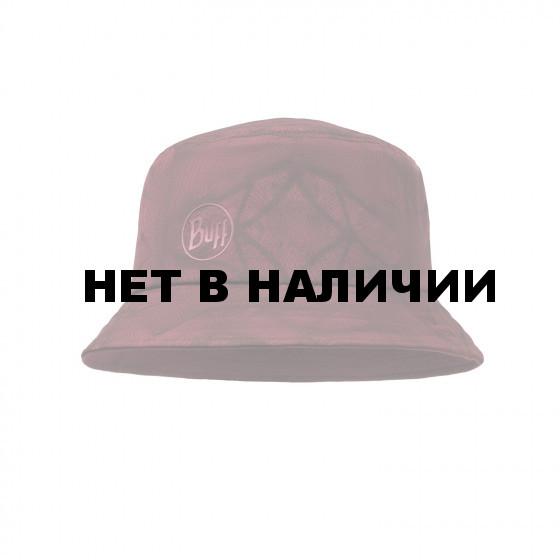 Панама BUFF TREK BUCKET HAT CALYX DARK RED