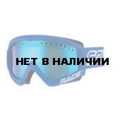 Очки горнолыжные Salice 969DARWFV WHITE-BLUE/RADIUM (б/р:ONE SIZE)