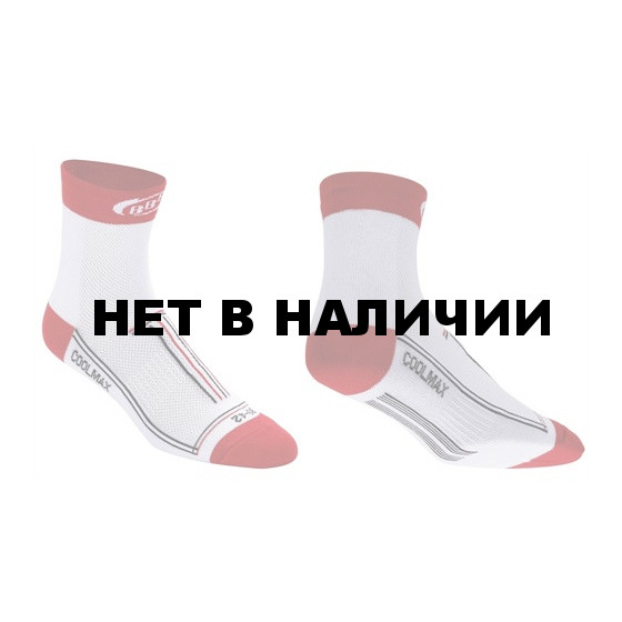Носки BBB TechnoFeet long white red (BSO-02_white red)