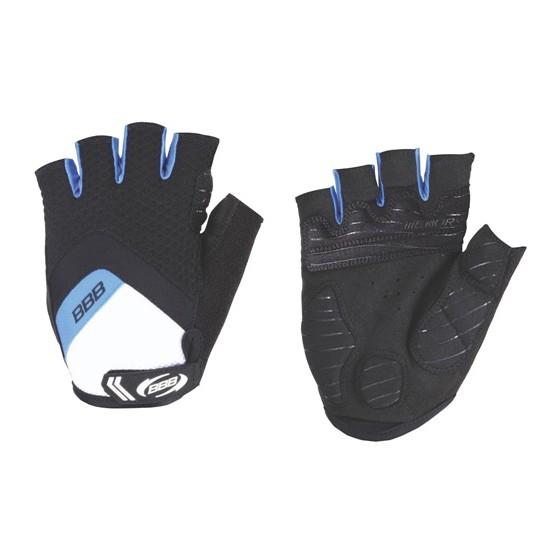 Перчатки велосипедные BBB HighComfort черный/синий (BBW-41)