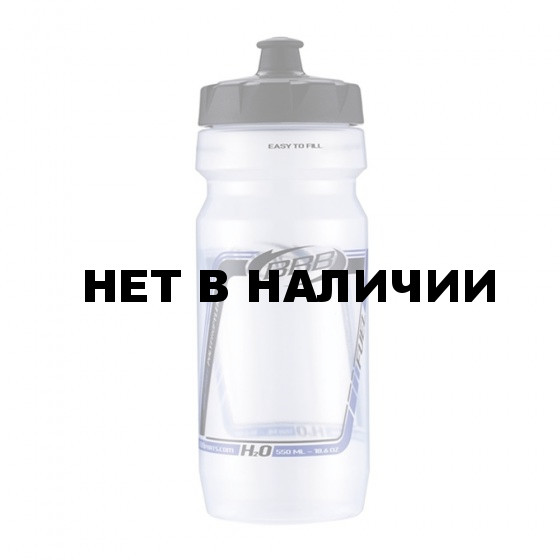 Фляга вело BBB 550ml. CompTank прозрачный принт (BWB-01)