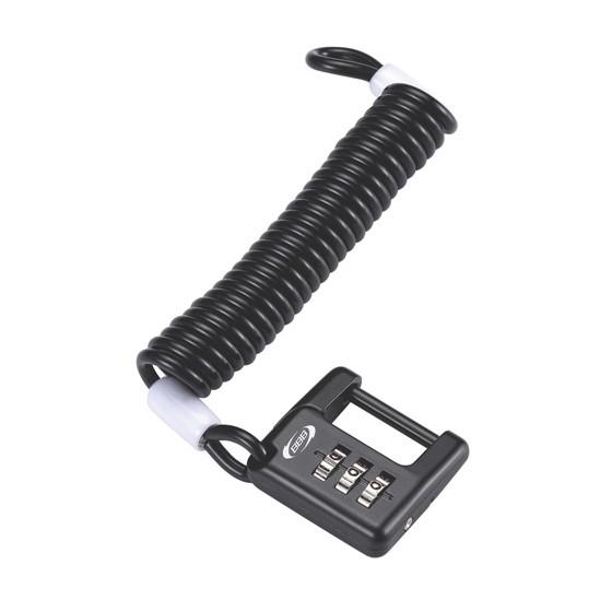 Замок велосипедный BBB MiniSafe Coil cable 1200mm (BBL-52)