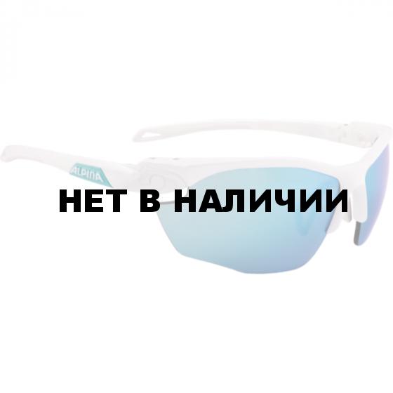 Очки солнцезащитные Alpina 2018 TWIST FIVE HR CM+ white matt-emerald