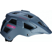 Велошлем BBB 2018 Nanga серый матовый/красный (US:L)
